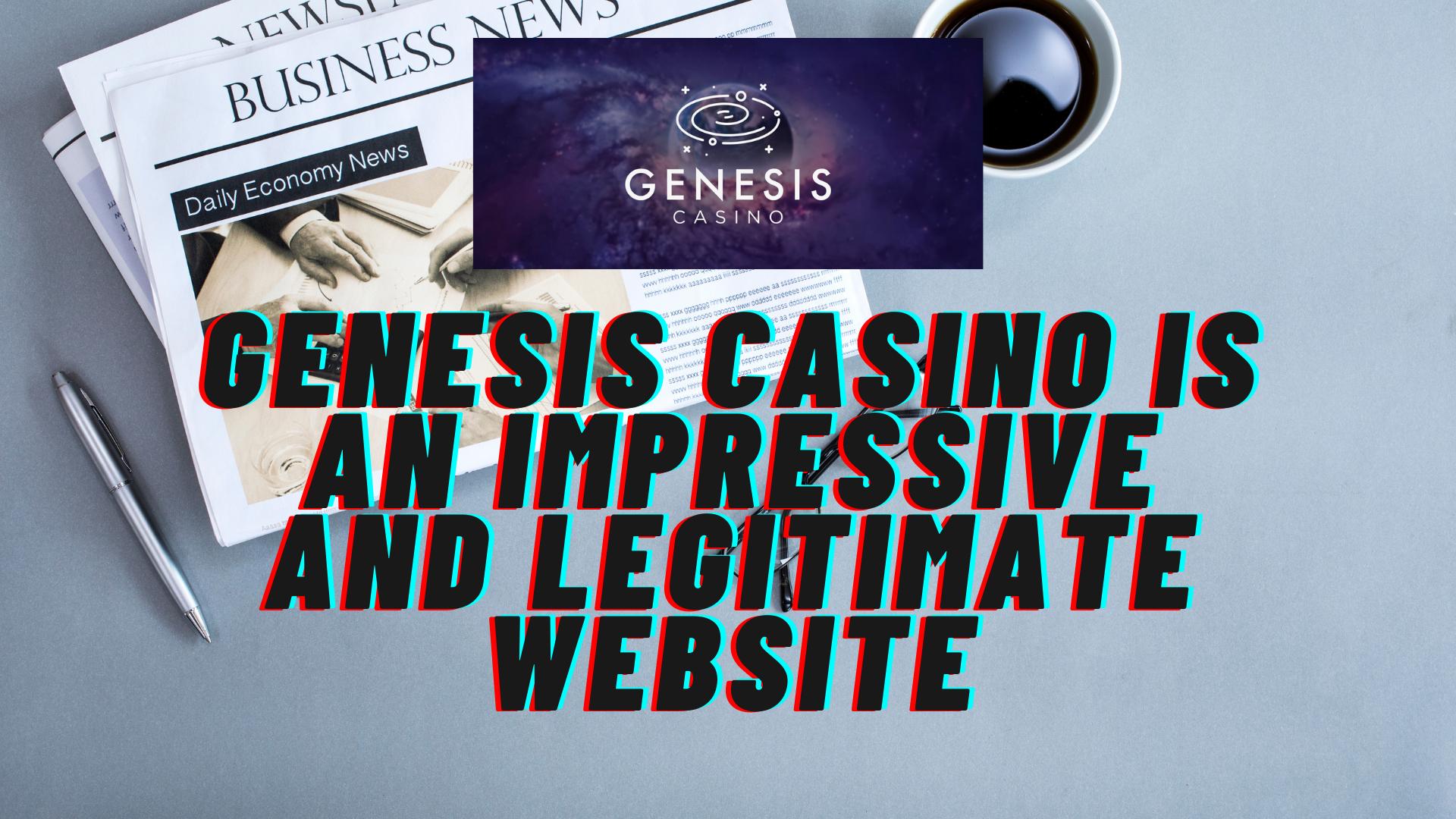 Genesis Casino Website