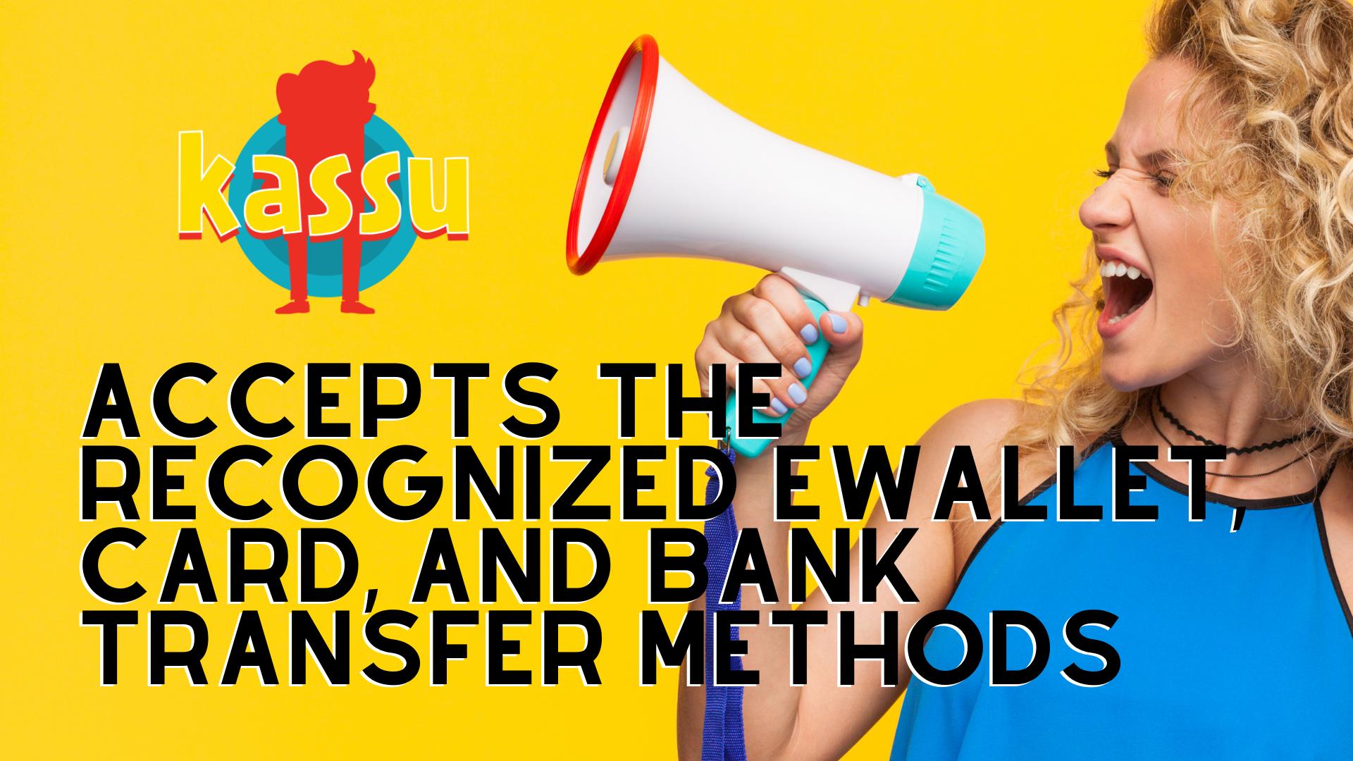 Kassu Casino Banking Options